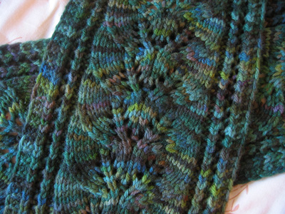 Knitting Patterns Leaves - 1000 Free Patterns