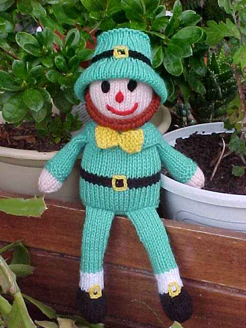 Rufus The Leprechaun Doll