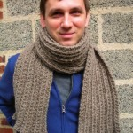 Montana Men's Scarf Pattern