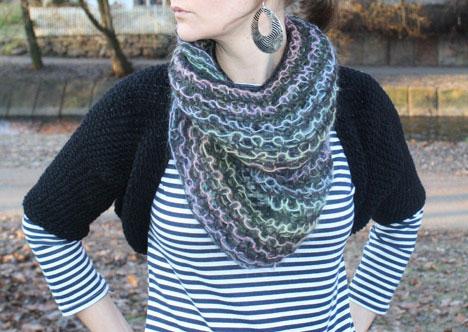 Free Knitted Bolero Pattern | Patterns Gallery