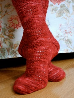 Machine Knit Hand Knit Sock With Gusset Heel | knittsings