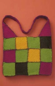 knitternall: TriMiters - A Felted Bag