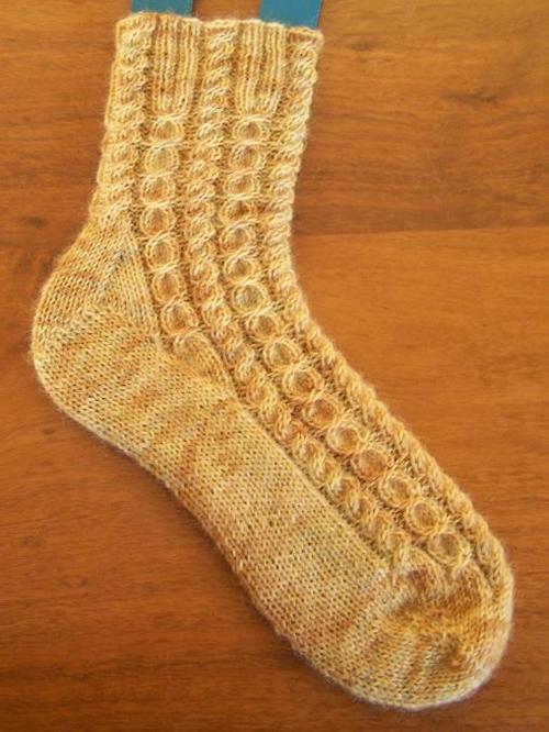 Penny Socks ⋆ Knitting Bee