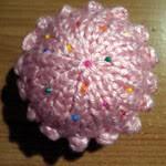 Pink Bobble Cupcake