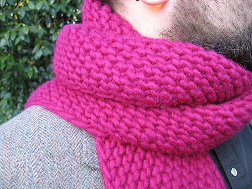 Knitting A Scarf Garter Stitch : Garter Stitch Scarf Pattern   Catalog of Patterns