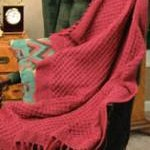 Raspberry Afghan Pattern