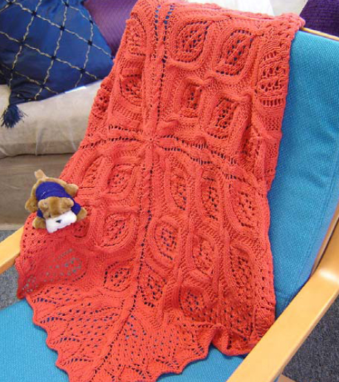 Free Blanket Knitting Patterns : KNITTING AFGHANS PATTERNS FREE PATTERNS
