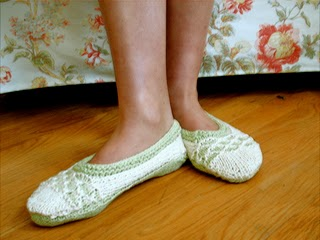 TV Slippers | Style No. 151 | Knitting Patterns