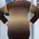 Sweater with Boatneck Collar