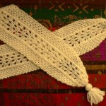 Swiss Fan Lace Scarf