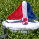 Toy Boat - Knitting Pattern