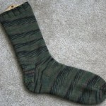 Fingering Weight Toe-Up Socks With Gusset and Slip-Stitch Heel