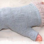 Whisper Fingerless Gloves