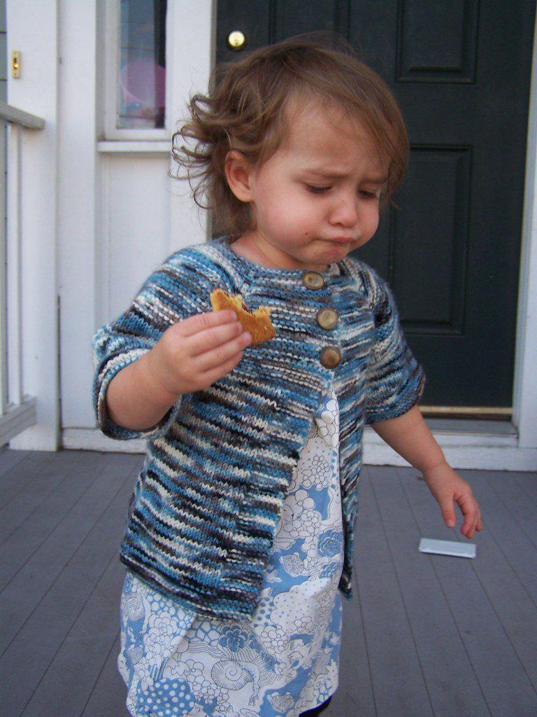 Free Toddler Knitting Pattern for an Easy Cardi