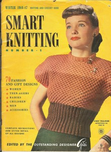1940's Knitting patter for a women's 3 Way Sweater