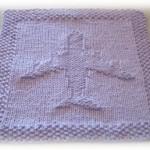 Airplane Washcloth