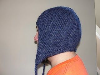 Find the free knitting hat pattern here: link