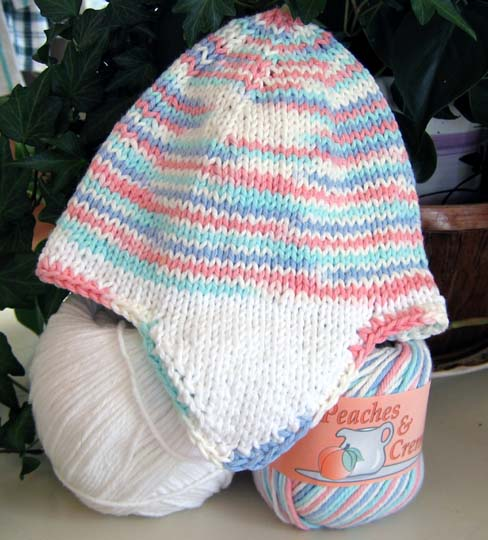 Knitting Pattern For Toddler Hat With Earflaps : Knitting Patterns Baby Hats Earflaps images