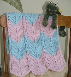 Free Baby Knitting Patterns - Baby Cables Blanket