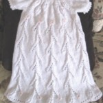 Floral Trellis Christening Gown