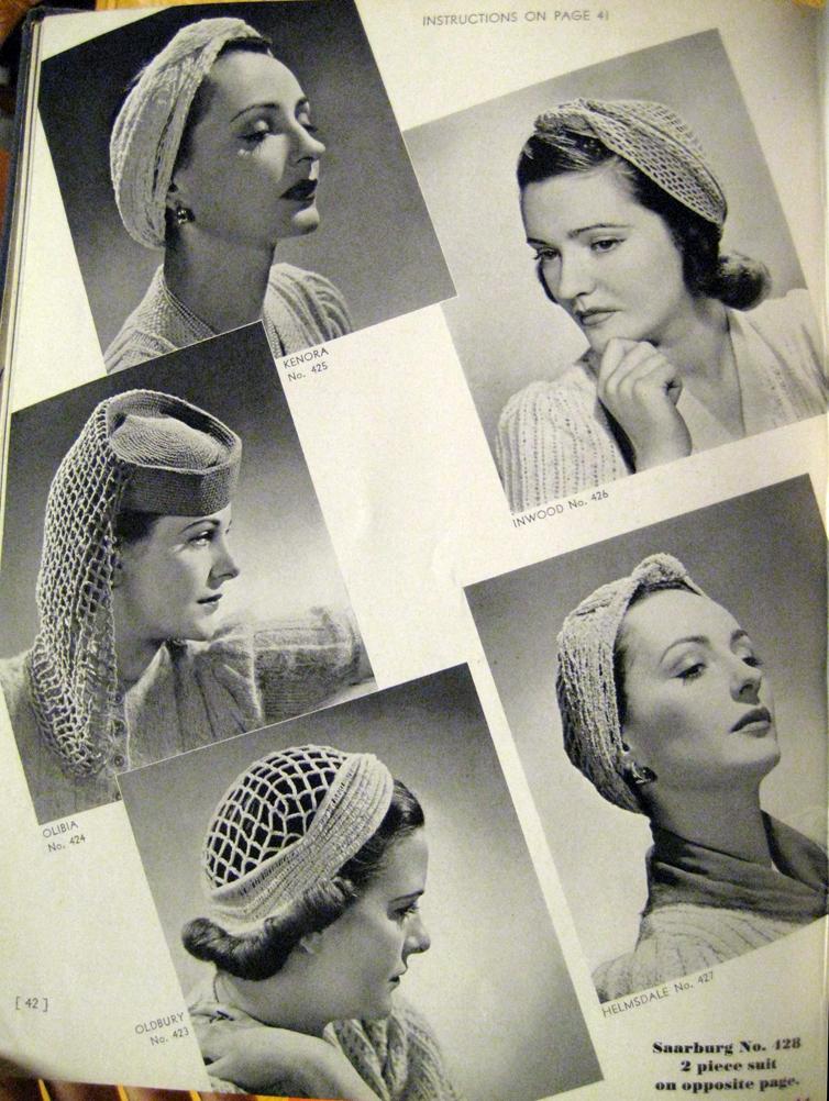 Vintage Turbans ⋆ Knitting Bee 969af435c72