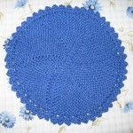 Lacy Picot Swirl Cloth