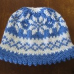 Scandi Snowflake Hat