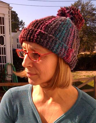 Free Crochet Pattern Bobble Hat : FUNKY KNIT HAT PATTERNS ? GRECIAN PATTERNS