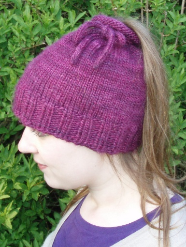 8dc6b3e35 Tea-Cozy Hat ⋆ Knitting Bee