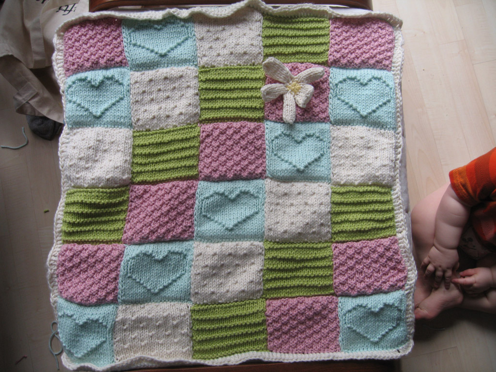 Free Knitting Pattern For Patchwork Quilt : Knitty on Pinterest Knitting Patterns, Dishcloth and ...