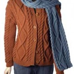 Alexi Cardigan and Scarf