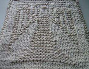 Free Pattern Mitered Dishcloth Knitting : Free Knitted Washcloth Patterns Patterns Gallery