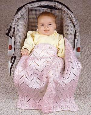 baby 39 s car seat blanket knitting bee. Black Bedroom Furniture Sets. Home Design Ideas