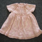 Panda Silk DK Little Girl Dress