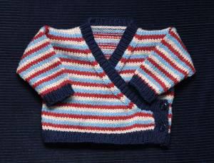 Baby Wrap-Cardigan