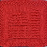 Barn Dishcloth