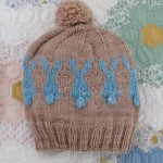 Blue Rabbit Hat