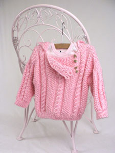 Zest Child S Cabled Cardigan Free Knitting Pattern