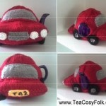Car Tea Cosy Knitting Pattern