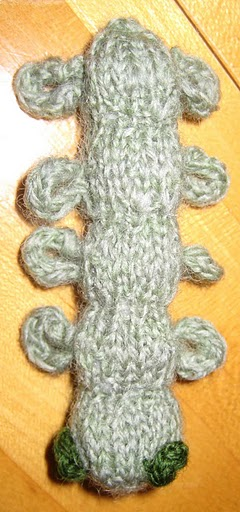 Metamorphosis Part I - Caterpillar Knitting Pattern