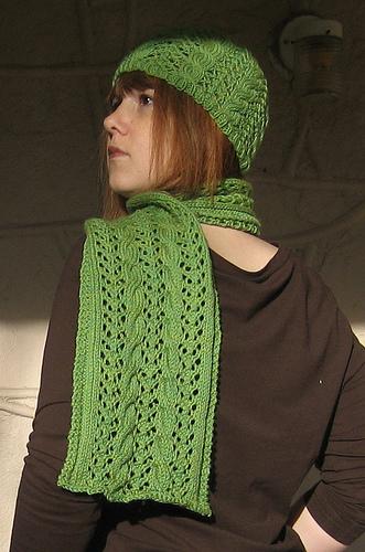 Easy Knit Scarf Pattern | Steamy Kitchen Recipes
