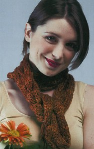 Scarf/Hat - free on-line knitting patterns - free on-line
