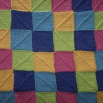 Color Block Baby Blanket