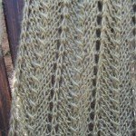 Cream of Spinach Scarf