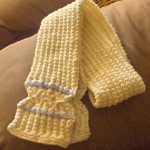 Crossed-Stitch Scarf