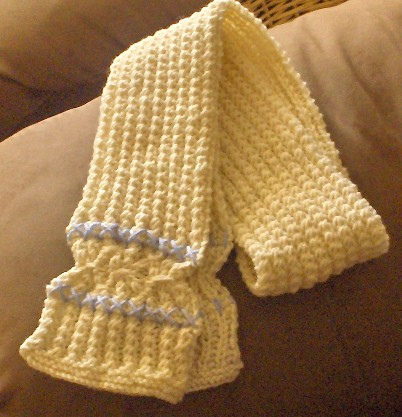 Easy Knitting Pattern For A Scarf-Condo Stitch Scarf