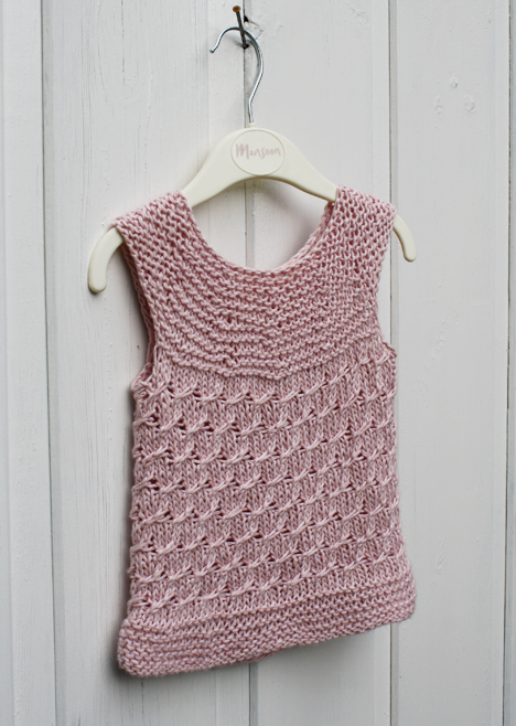 Knitting Pattern Baby Tank Top : FREE KNITTING PATTERNS