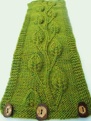 Free Free Lace Leaf Stitch Cowl Knitting Patterns Patterns