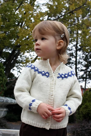 Free Knitting Pattern 80394AD Library Capelet : Lion Brand