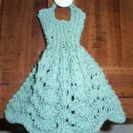 Knit Dishcloth Dress